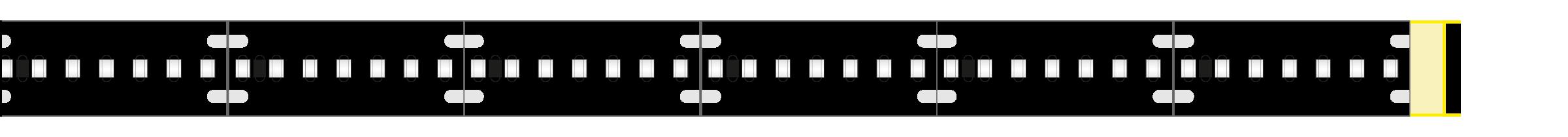 uv-c led flexbaender betriebszustand