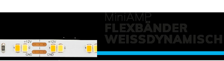 miniamp flexbaender weissdynamisch