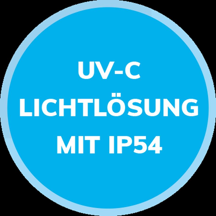 uv-c lichtloesung mit ip54
