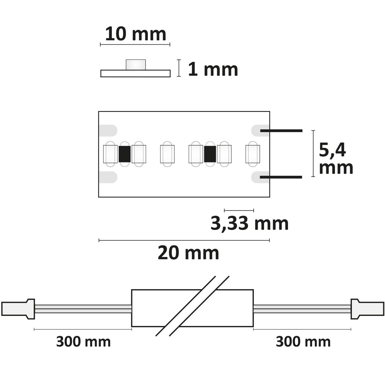 miniamp 24v led flexband 114634-35