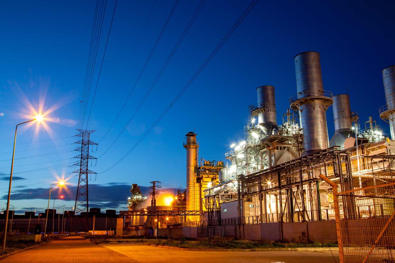 lichtanlagen led bauindustrie gewerbe kraftwerke