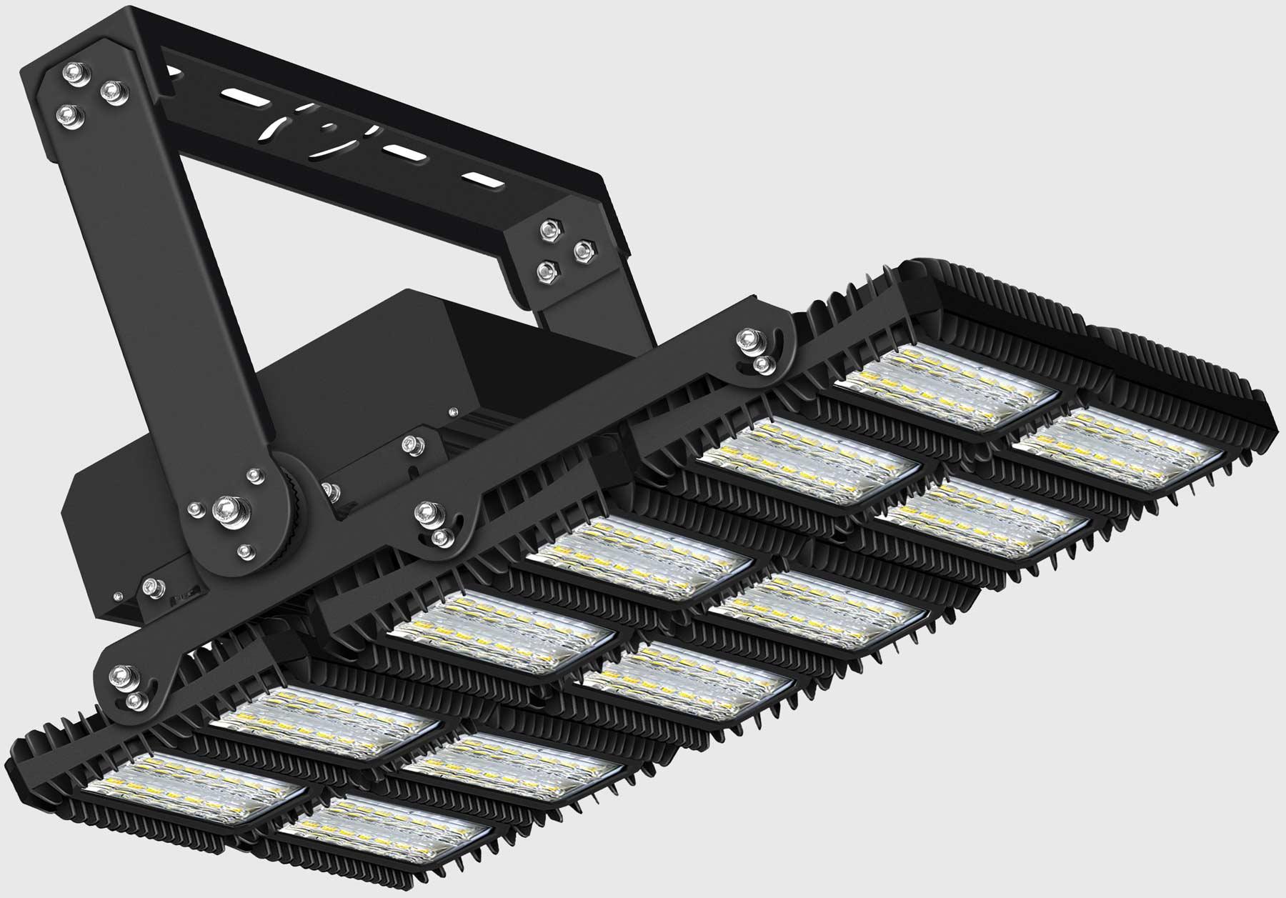 lichtanlagen led flutlicht 1350w 114628