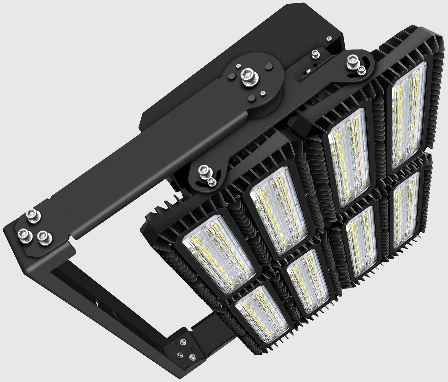 lichtanlagen led flutlicht 900w 114626