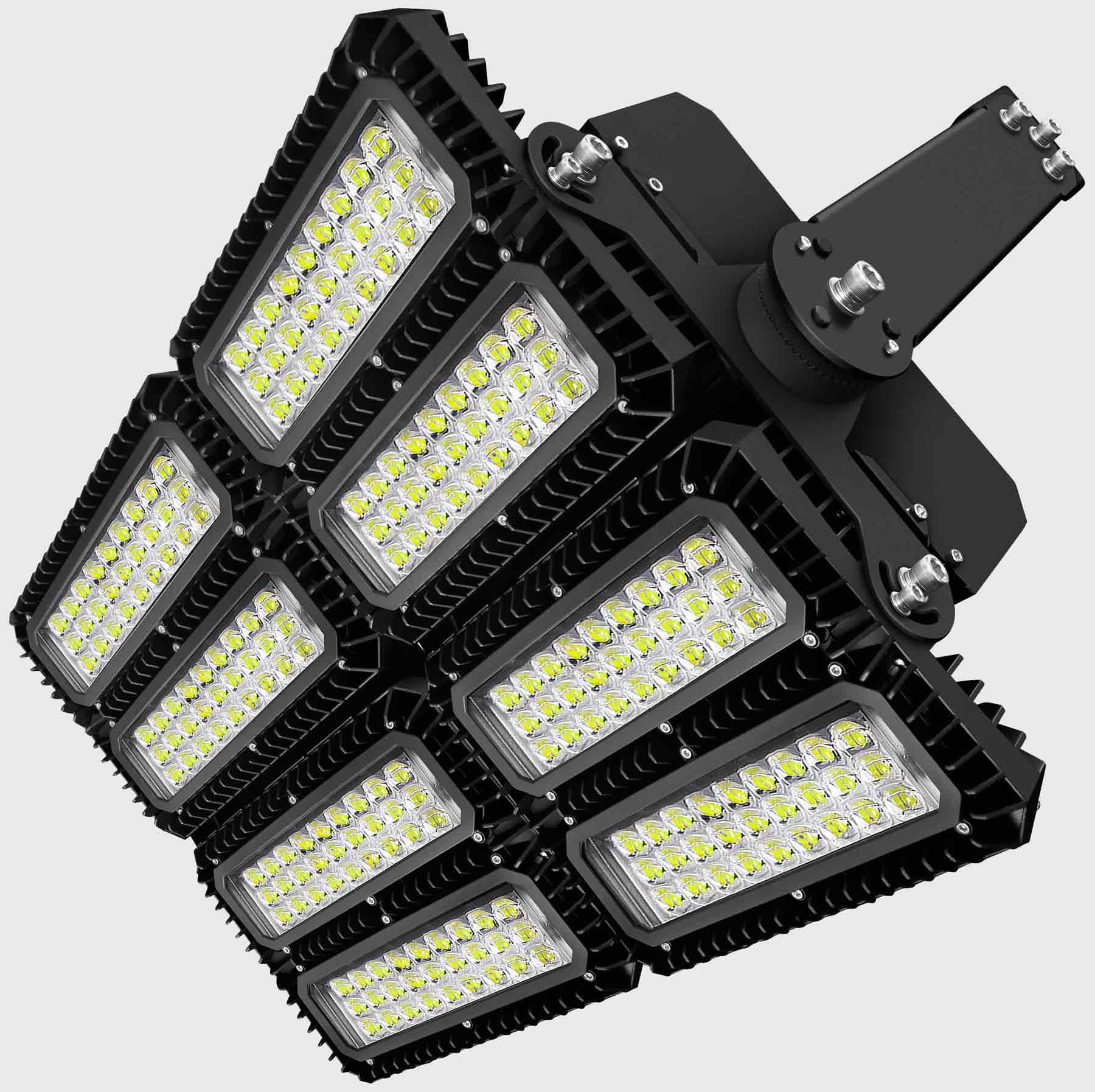 lichtanlagen led flutlicht 900w 114627
