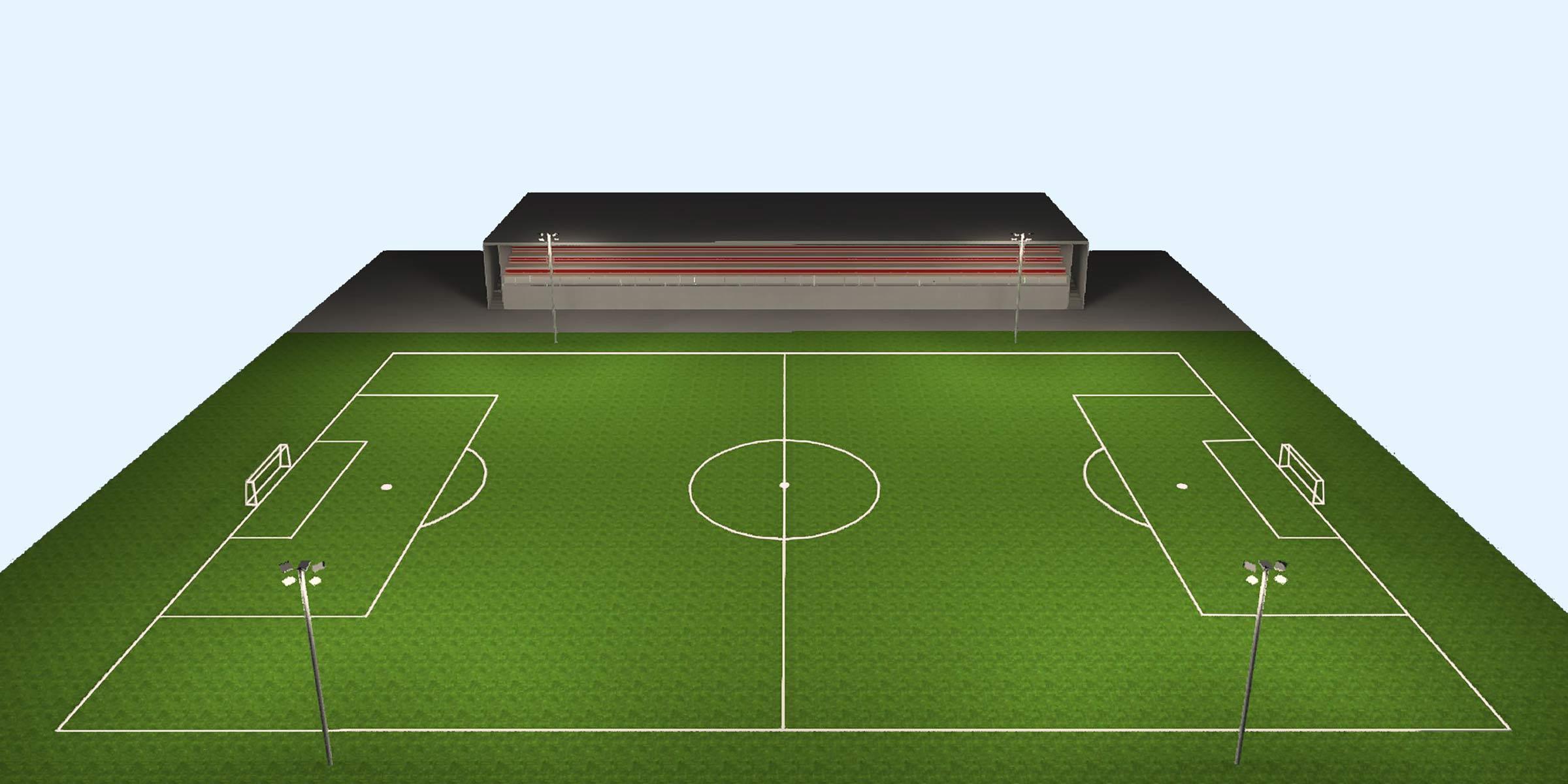 lichtanlagen led flutlicht lichtplanung fussballplatz
